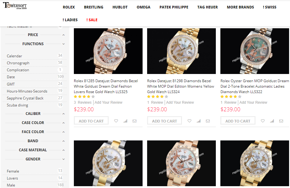 grade 1 swiss replica rolex watches sale