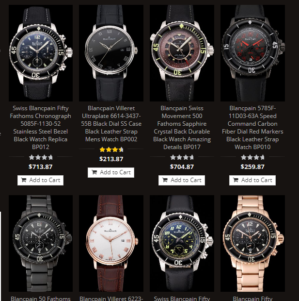 blancpain replica watches usa sale