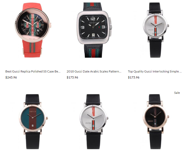 high quality replica gucci watches
